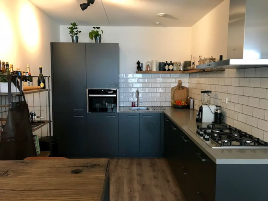 Modern and fully equiped kitchen