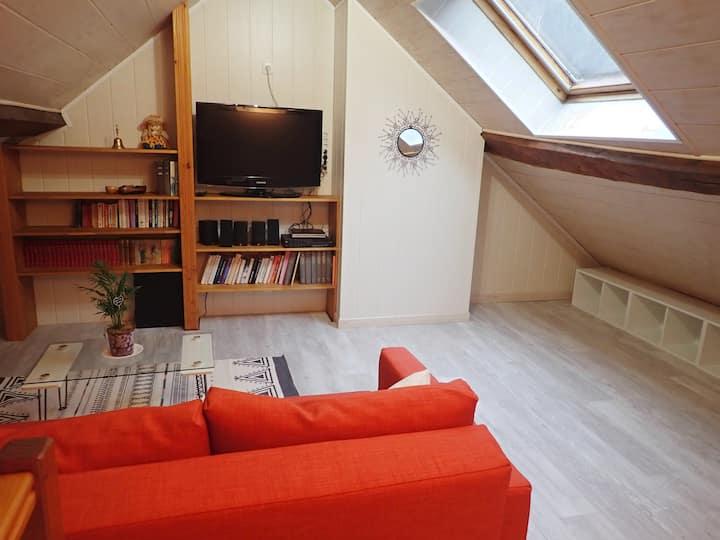 Appartement confortable aux pieds des montagnes