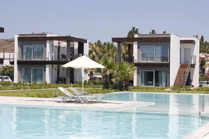 Denize sıfır özel plajlı Bodrum evi - Bitez - Talo