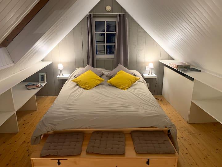 Petit loft Saint-Malo intra-muros !