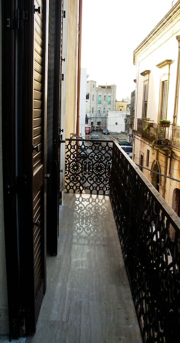 Balcone comune soggiorno