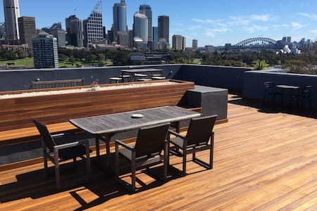 STUDIO ONE ☝️ modern, rooftop views - Potts Point