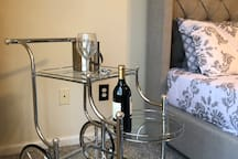 2nd Floor Master Suite Bar Area