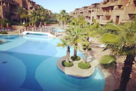 Appartement de charme 3 chambres avec piscine - Marrakesh