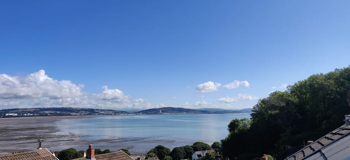 Mumbles Fishermans Cottage with Sea Views