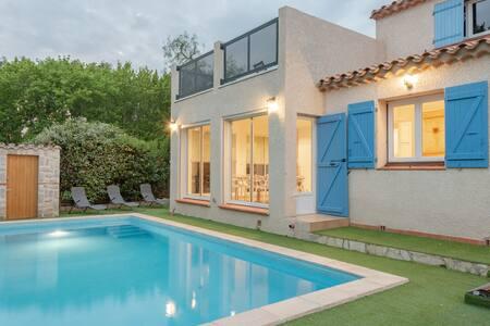 Villa Oliviers avec piscine privée