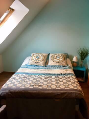 Chambres pour 4 personnes à 10 min des plages