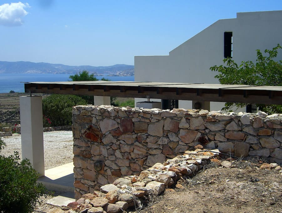 View to Milos island