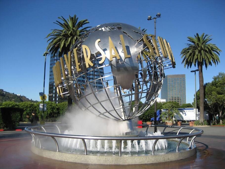 Next to Universal Studios!