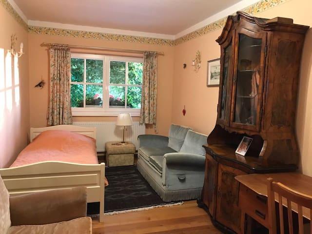 Charmantes Einzelzimmer am Rhein