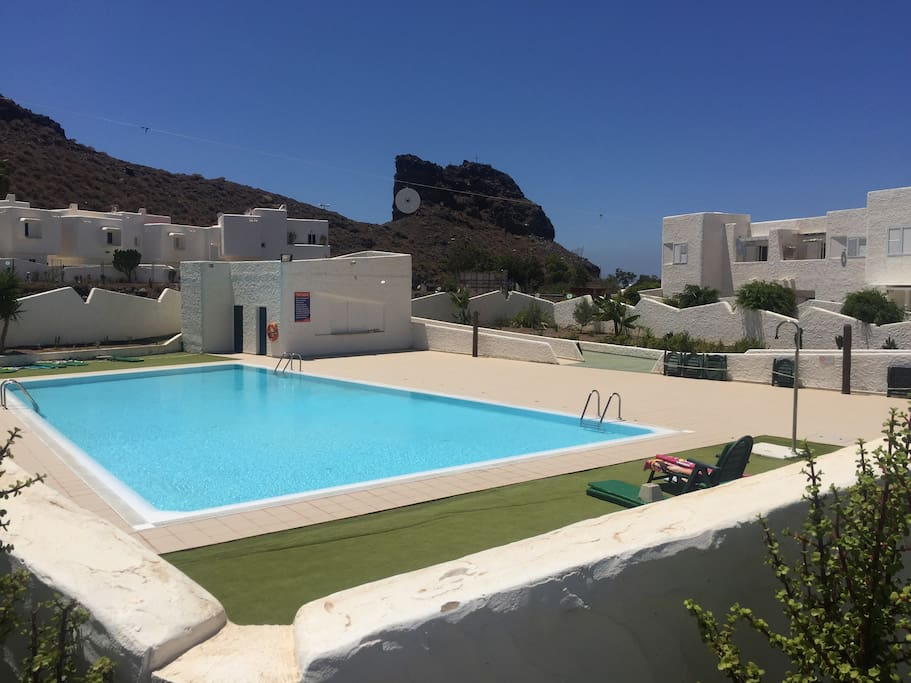 Apartamento vistamar agaete piscina y wifi wohnungen zur for Piscinas de agaete