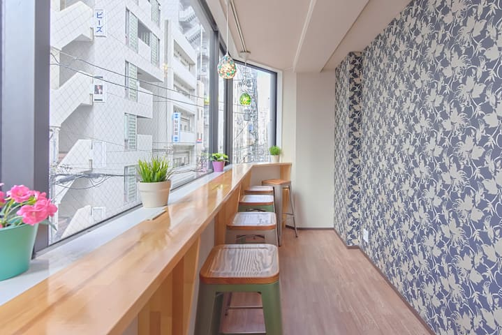 = ขาย 20% OFF = 1MIN SHINSAIBASHI MIESED DORM