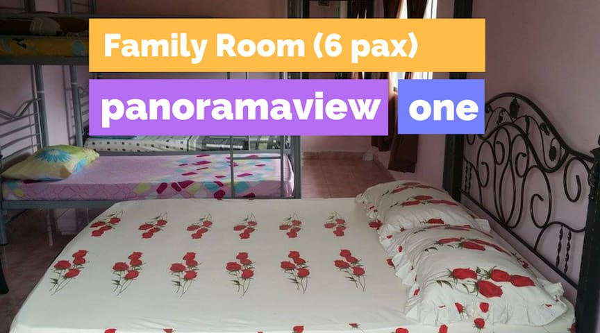Panoramaview One - Family Room for 6 Pax