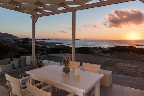 Villa Seafront | Luxury 50 m. to Falassarna Beach