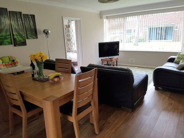 Large, comfortable flat in central Guildford - Guildford - Apartment