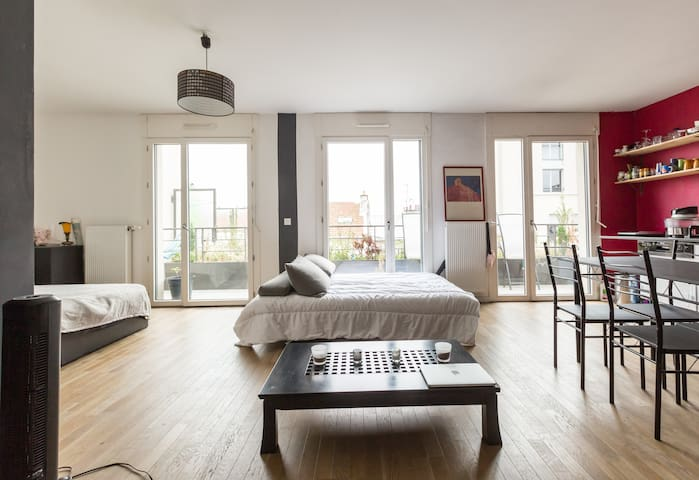 Espace partagé, Shared space - Saint-Denis - Apartment