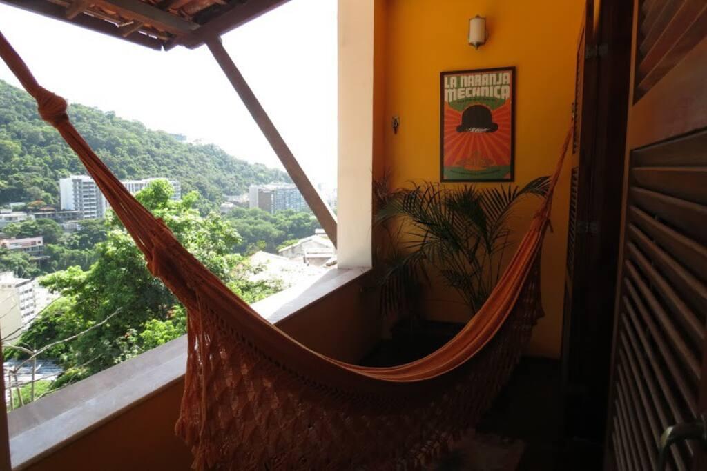Chambres avec terrasses individuelles
