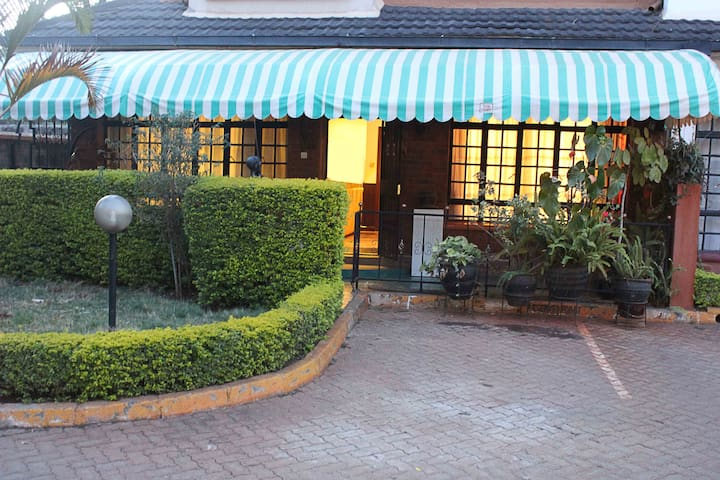 Cute, family-friendly apartment in Westlands
