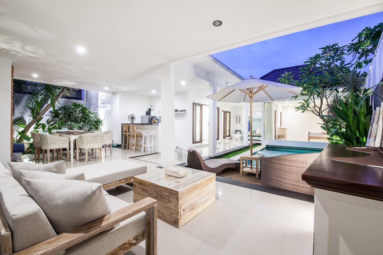 Newly Renovated 2 Bdrm Villa in Heart of Seminyak - Villas for Rent ...