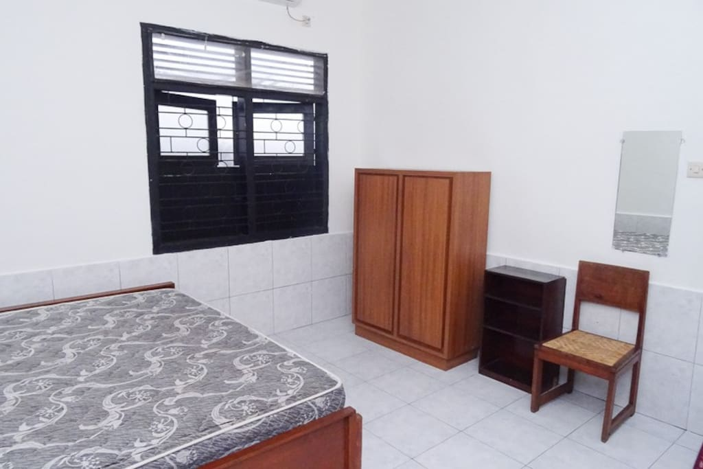 Bedroom. Bed sheet and pillows will be provided.