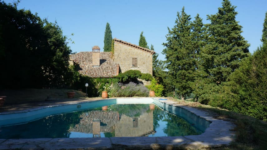 4 Bedroom Villa with Private Pool, Morra - Morra, Province of Perugia - 別墅