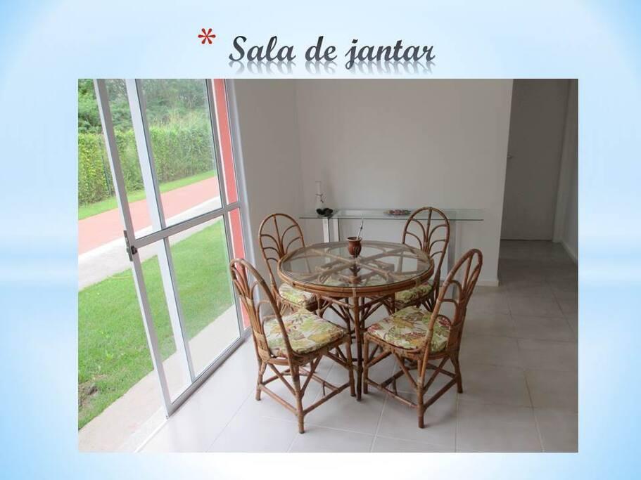 Sala de Jantar. Dinning Room.