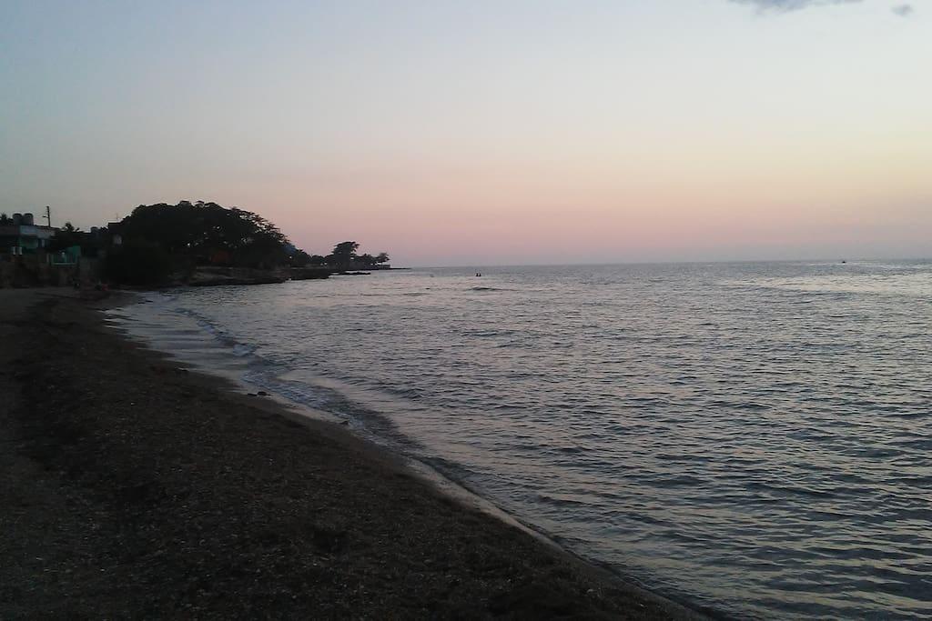 Playa La Boca Atardecer
