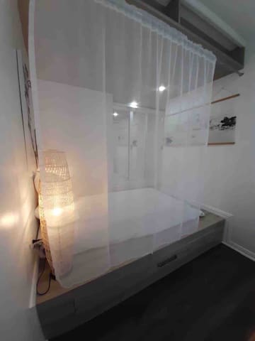 Second Bedroom:  One Single Japanese style bed One Pull-out Single bed Blankets and pillows Cabinets with hangers Desk and chair Electric fan  Note: This room may be locked if only a couple will be staying in the master bedroom to ensure cleanliness