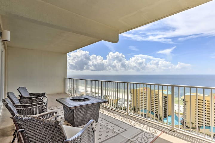 This 3-bed, 3-bath, 1,681-square-foot condo features an oceanfront balcony.