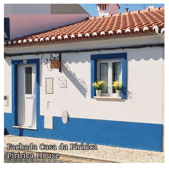 Fachada Casa da Piririca