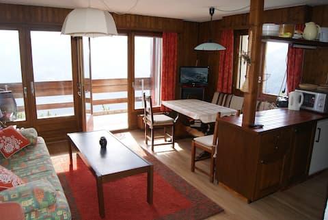 Bel appartement Mont-Noble
