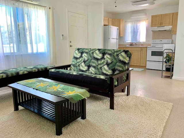 2 BR convenient location 8 min DR to Waikiki