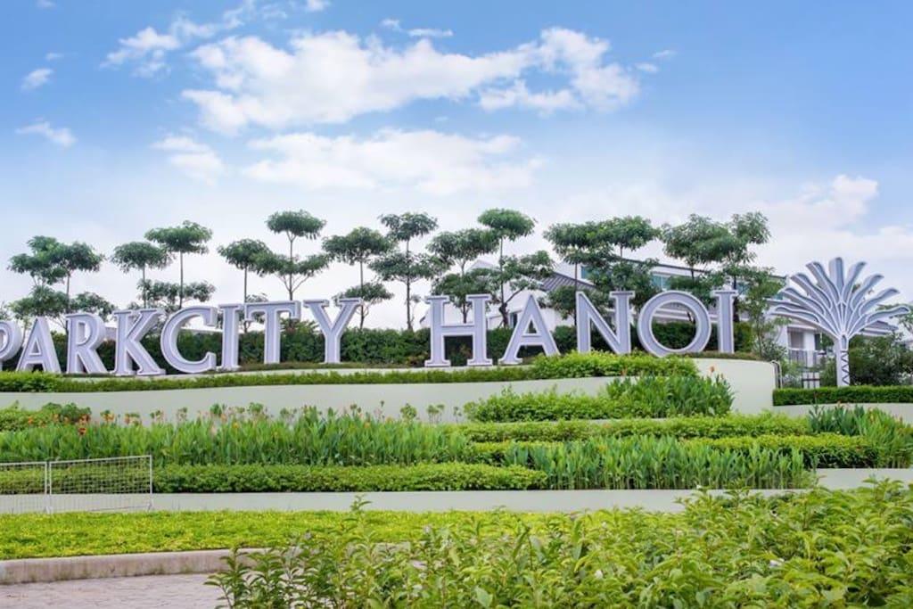 ParkCity Hanoi main entrance
