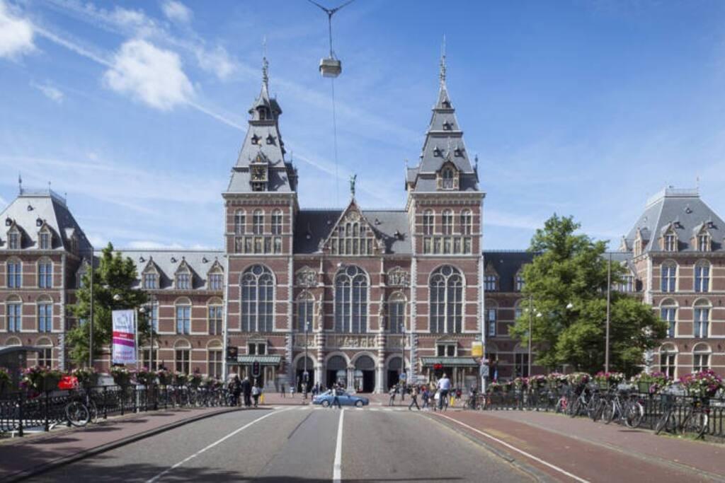 Rijksmuseum at walking distance