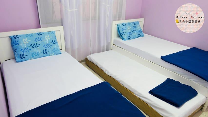 3 Single bed room