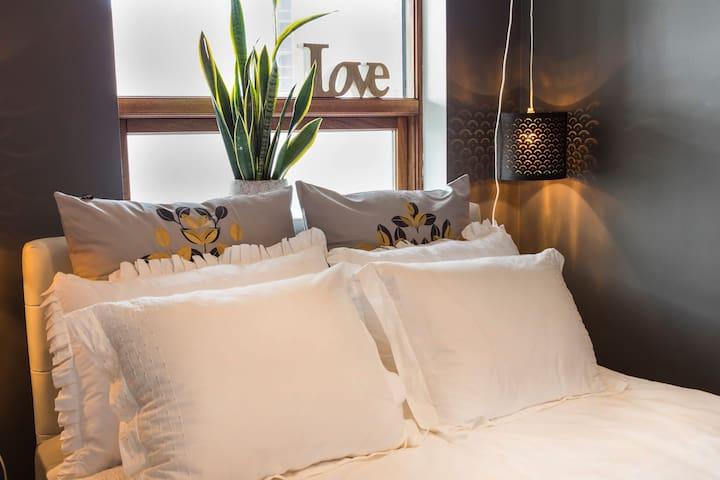 Cozy & cute room in Kopavogur for the best sleep
