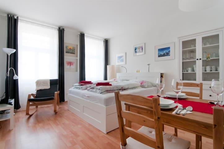 Im Herzen Wien´s, ruhig, sonnig, gemütlich, neu - Wien - Apartment