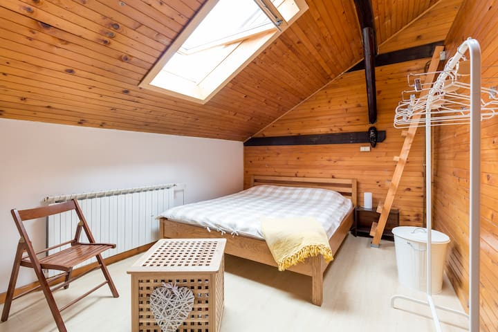 Attic bedroom - Zagreb - Apartamento