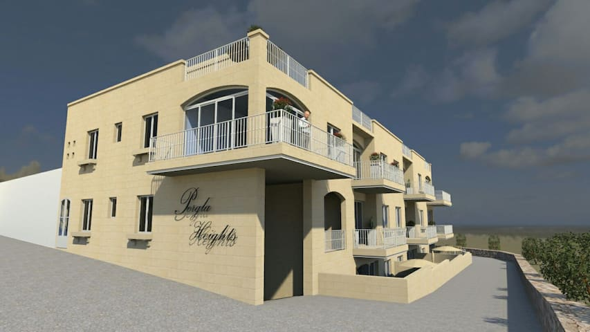 Xaghra Luxury Apartment with pool - Xaghra - Daire
