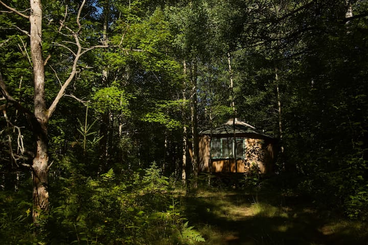 Magical Wooden Yurt on 450 acres
