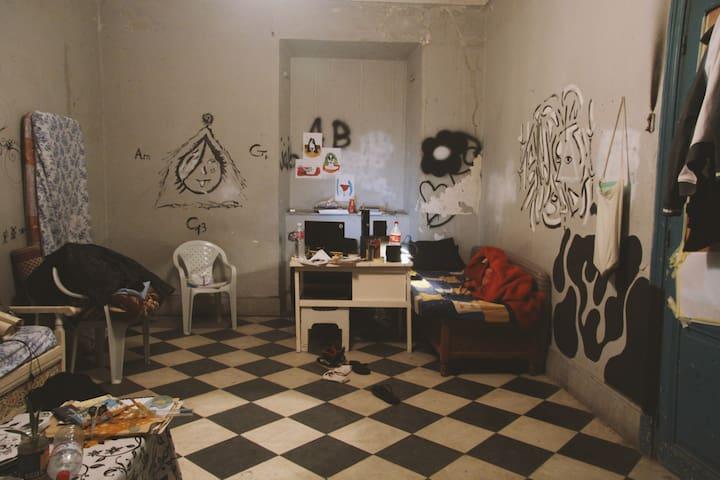 chambre d'hôtes en plein centre ville de Tunis - Tunis - Apartemen