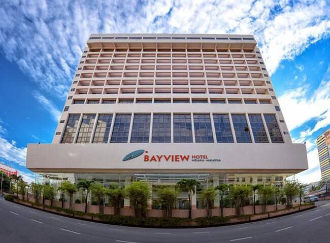 Bayview Melaka (4* with 2 breakfast)海湾酒店+2早餐