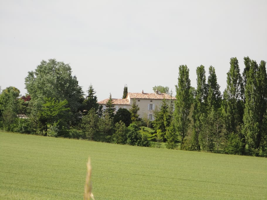 Located in a rural environment, the Manoir offers peace, space and open views