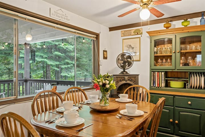 *New Listing* Riverfront Family Heritage Cabin