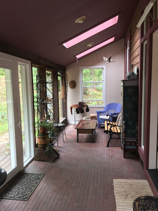 Entryway sunroom