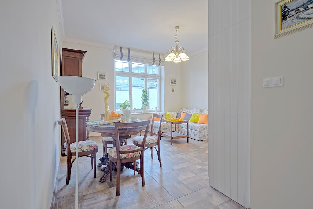Dinning room and sofa