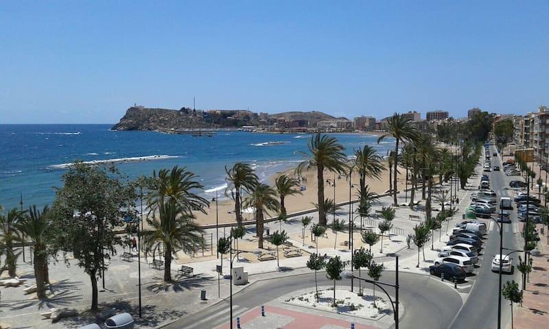 APARTAMENTO CON PRECIOSAS VISTAS ... - Puerto de Mazarrón