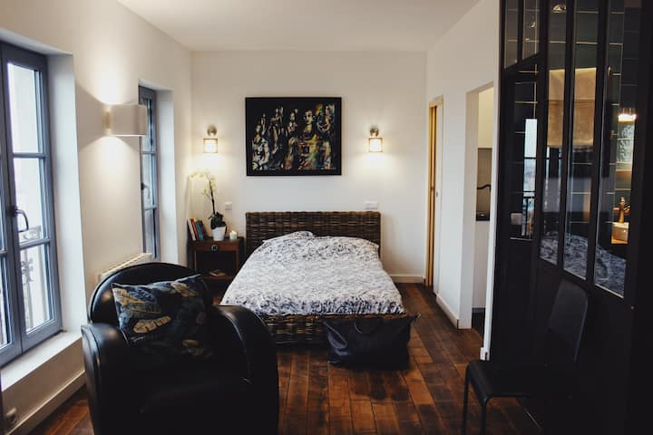 Vieux Lyon, magnifique studio, vue d'exception !