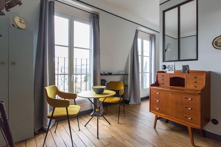 Chambre d'hôte à Montmartre