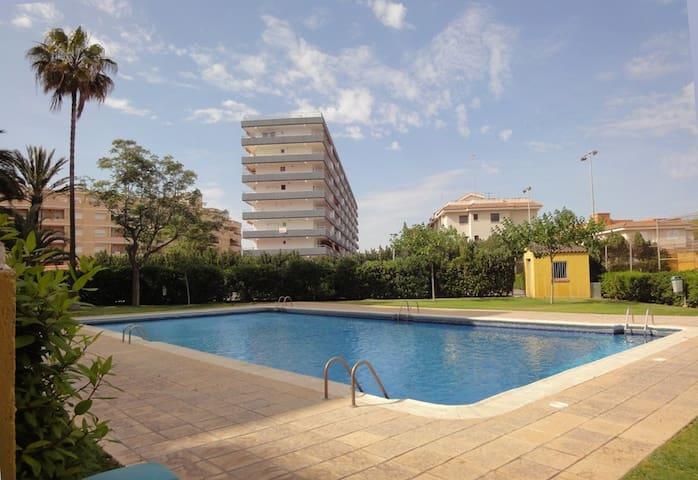 Apartamento 2ª linea de playa - Canet de Berenguer - Leilighet